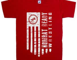 nº 37 pour design flag t-shirt par greenpeacepait