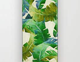 nº 20 pour Tropical banana leaf mobile phone case design par goalexxago