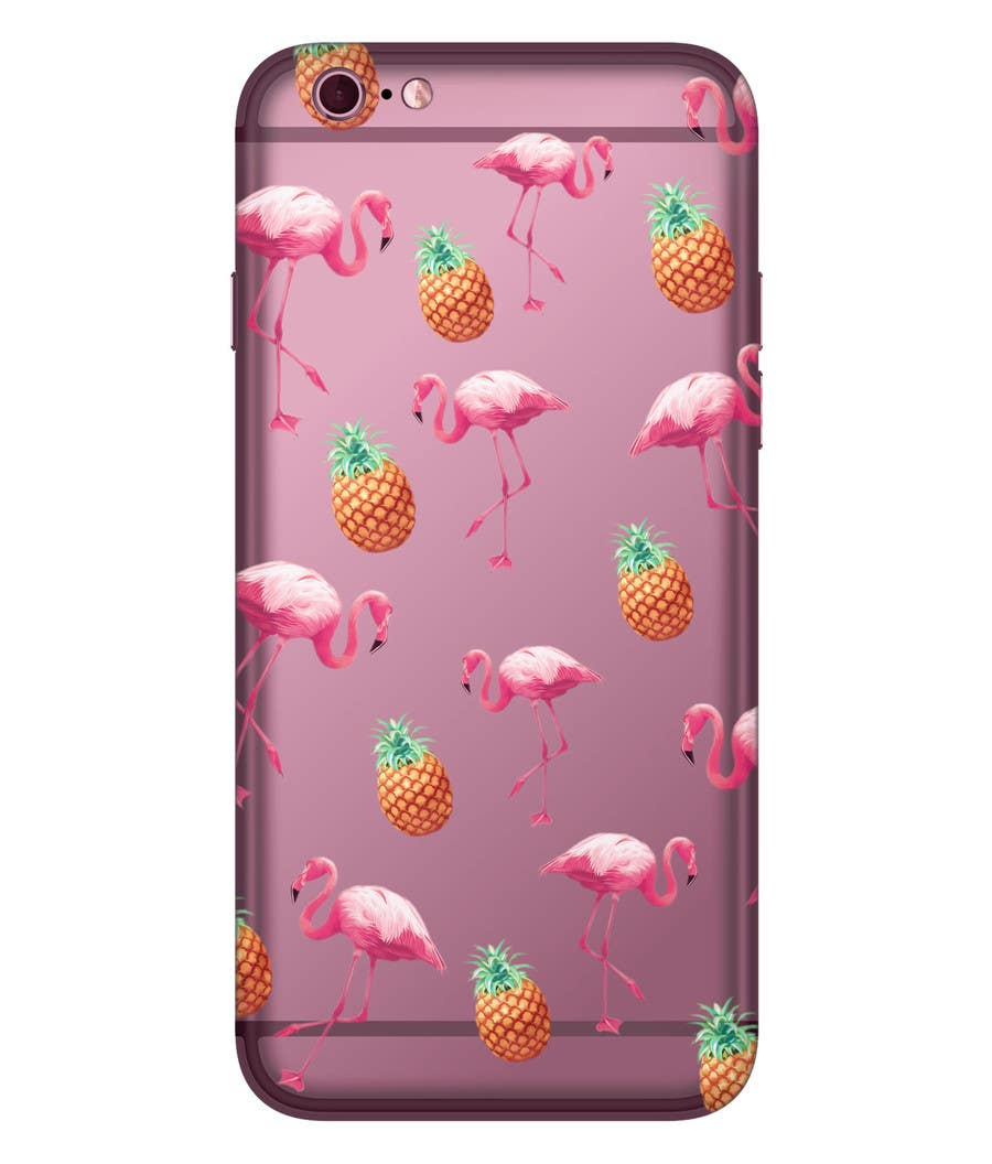 Proposition n°21 du concours Flamingo and pineapple repeating pattern for a phone case.
