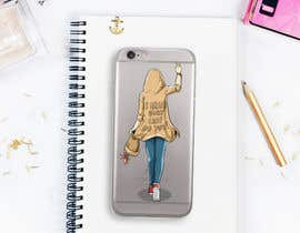 nº 39 pour Freehand/Sketch style drawing of a female for a phone case par devchoudhary24
