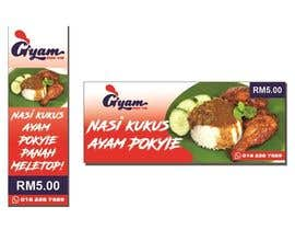 nº 42 pour Banner + Bunting for - Nasi Kukus Ayam Pokyie par Flawira