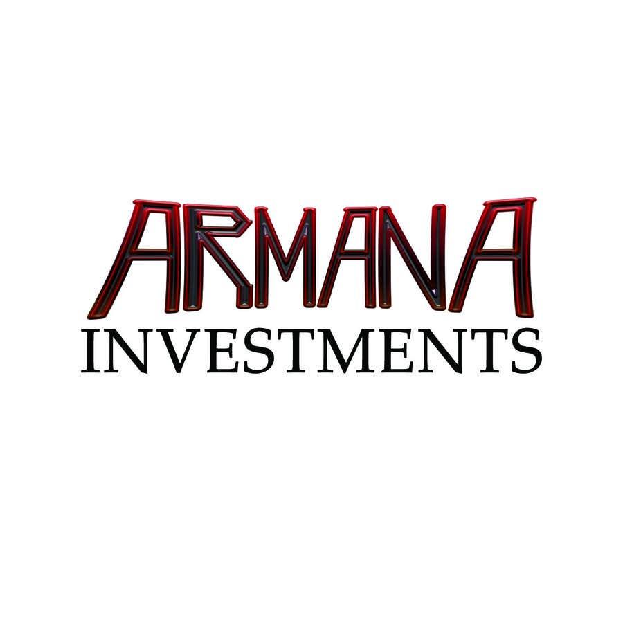 Proposition n°313 du concours Armana Investments - Logo Design