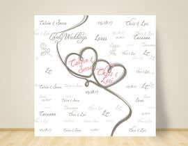 nº 17 pour wedding step&repeat backdrop par pao0411