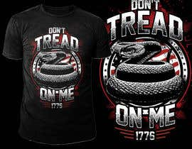 nº 52 pour Design a Snake T-Shirt (Gadsden flag - Tread On Me) par novuz