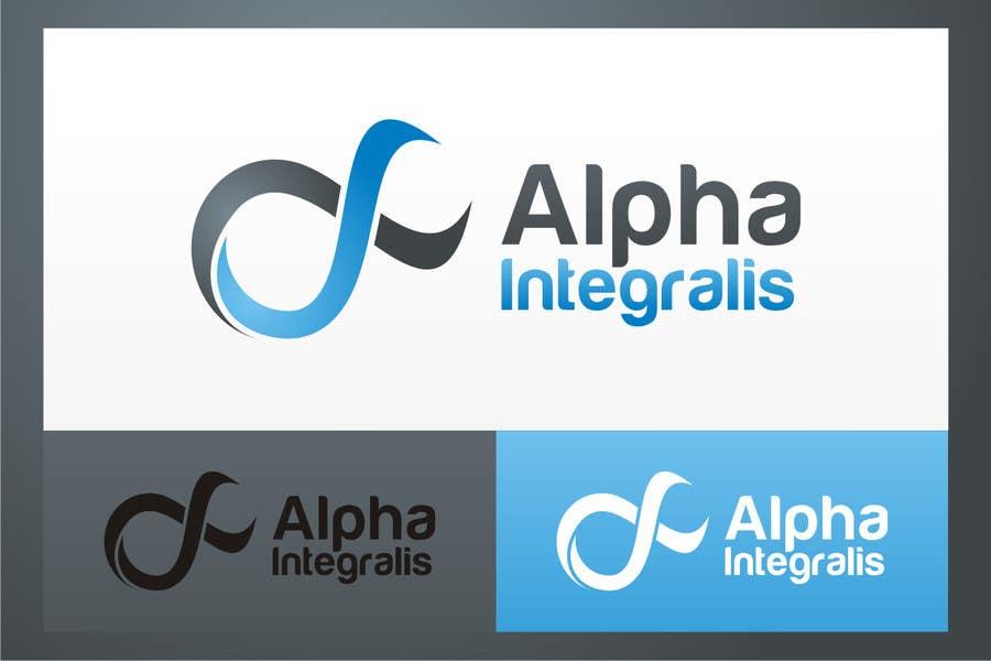 Penyertaan Peraduan #161 untuk Logo Design for Alpha Integralis