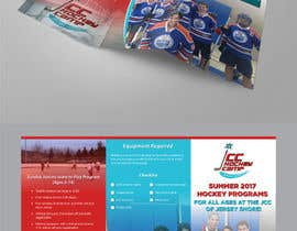 #28 for Design a Hockey program Trifold Brochure. Most of content given. by AthurSinai