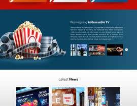 nº 24 pour Design first page only of website par matthewfariz
