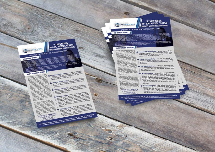 Proposition n°33 du concours Design a Flyer and an email signature