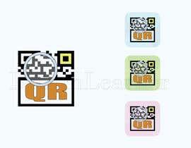 nº 35 pour Design icon for QR Code Reader app par dreamlearner