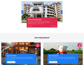 #13 untuk Design a homepage Mockup (Only photoshop or similar) without front end coding. Just nice/modern graphic design oleh aliul