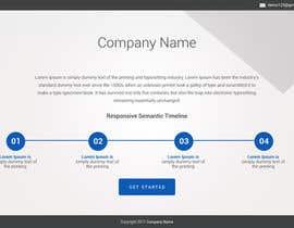 nº 9 pour Build a Website with bootstrap v4 par saidesigner87