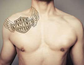 nº 6 pour Harley-Davidson Tattoo Design par harmeetgraphix