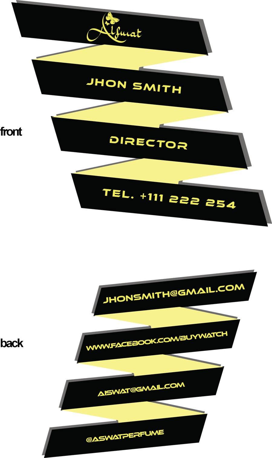 Proposition n°70 du concours Business card design