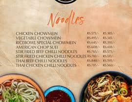 nº 13 pour Designing a Chinese take away menu par MichaelMeras