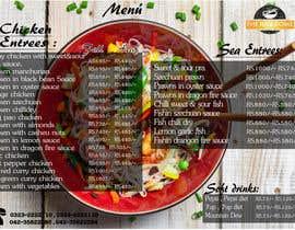 nº 12 pour Designing a Chinese take away menu par karipicca