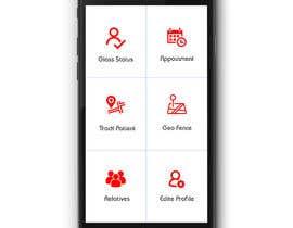 nº 27 pour Design an App Mockup par ramjanali892