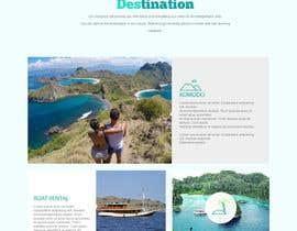nº 1 pour Komodo Adventures landing page par whyssonstudio