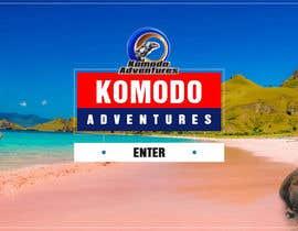 nº 2 pour Komodo Adventures landing page par ambalaonline1