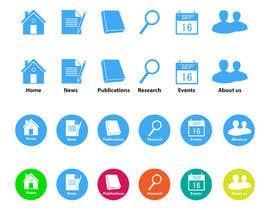 nº 7 pour Design six simple Icons for an app for healthcare professionals par CGplus