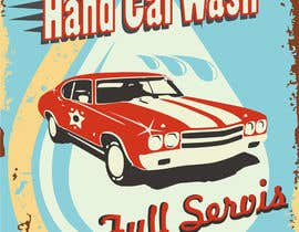 #5 for I need help designing a Sign/banner for a Hand CarWash. by kurgas0
