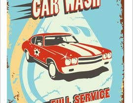 nº 17 pour I need help designing a Sign/banner for a Hand CarWash. par kurgas0