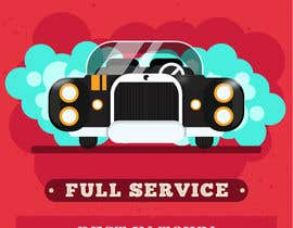 nº 4 pour I need help designing a Sign/banner for a Hand CarWash. par ajithracer