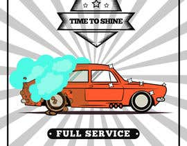 nº 16 pour I need help designing a Sign/banner for a Hand CarWash. par ajithracer