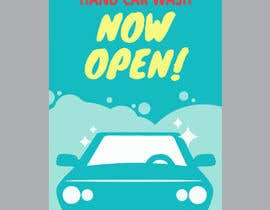 nº 18 pour I need help designing a Sign/banner for a Hand CarWash. par ikramhossain849
