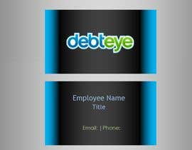 #132 pentru Business Card Design for Debteye, Inc. de către CorrectComplete