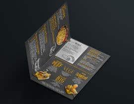 nº 13 pour Design a Cafe Menu A4 bifold portrait design par MichaelMeras