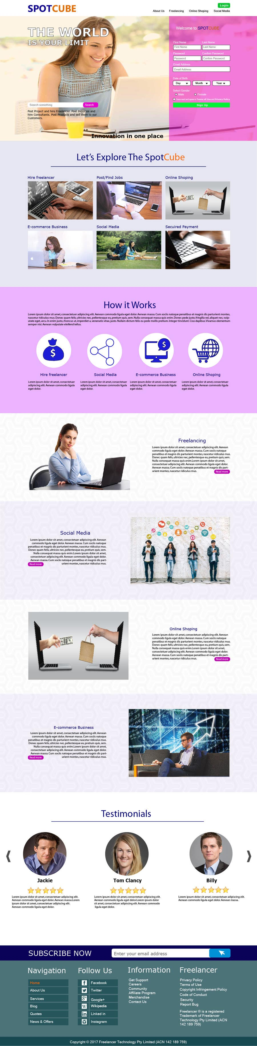 Proposition n°70 du concours website background Homepage