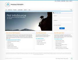 #27 untuk Website Design for First InfoSource oleh anjaneyabattu