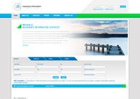 Graphic Design Entri Peraduan #52 for Website Design for First InfoSource