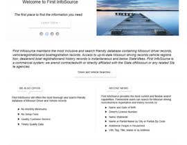 #64 untuk Website Design for First InfoSource oleh rana60