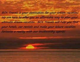 nº 1 pour Travel Agency Ad-1 par paulajackson83