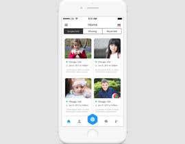 nº 6 pour Design an App screens in PSD par livelypixels