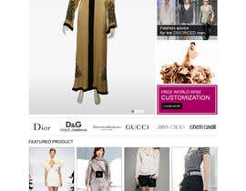 #30 pentru Website Design for fashion business de către scriptmindz