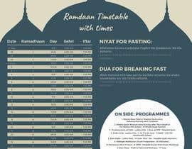 nº 2 pour Design a Ramadaan Calendar par AyazAhemadKadri