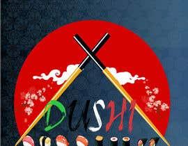 nº 7 pour Dushi Dubai Sushi Logo par mohammedabubakr1