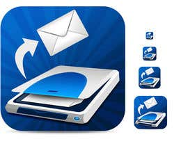 #61 pentru Icon Design for a Document Scanner Phone App de către badhon86