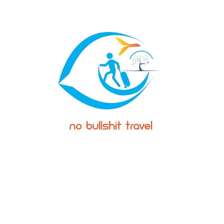 Proposition n°28 du concours Design No Bullshit Travel a Logo