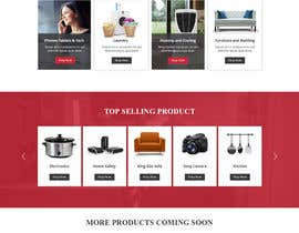 nº 84 pour Design website - homepage and generic product page par pradeep9266