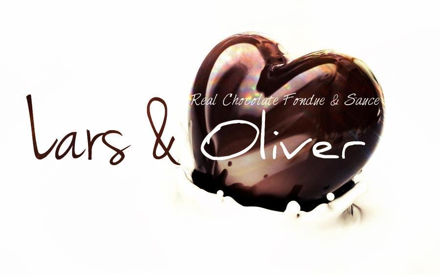 Inscrição nº                                         54                                      do Concurso para                                         Print & Packaging Design for Lars & Oliver Real Chocolate Fondue & Sauce