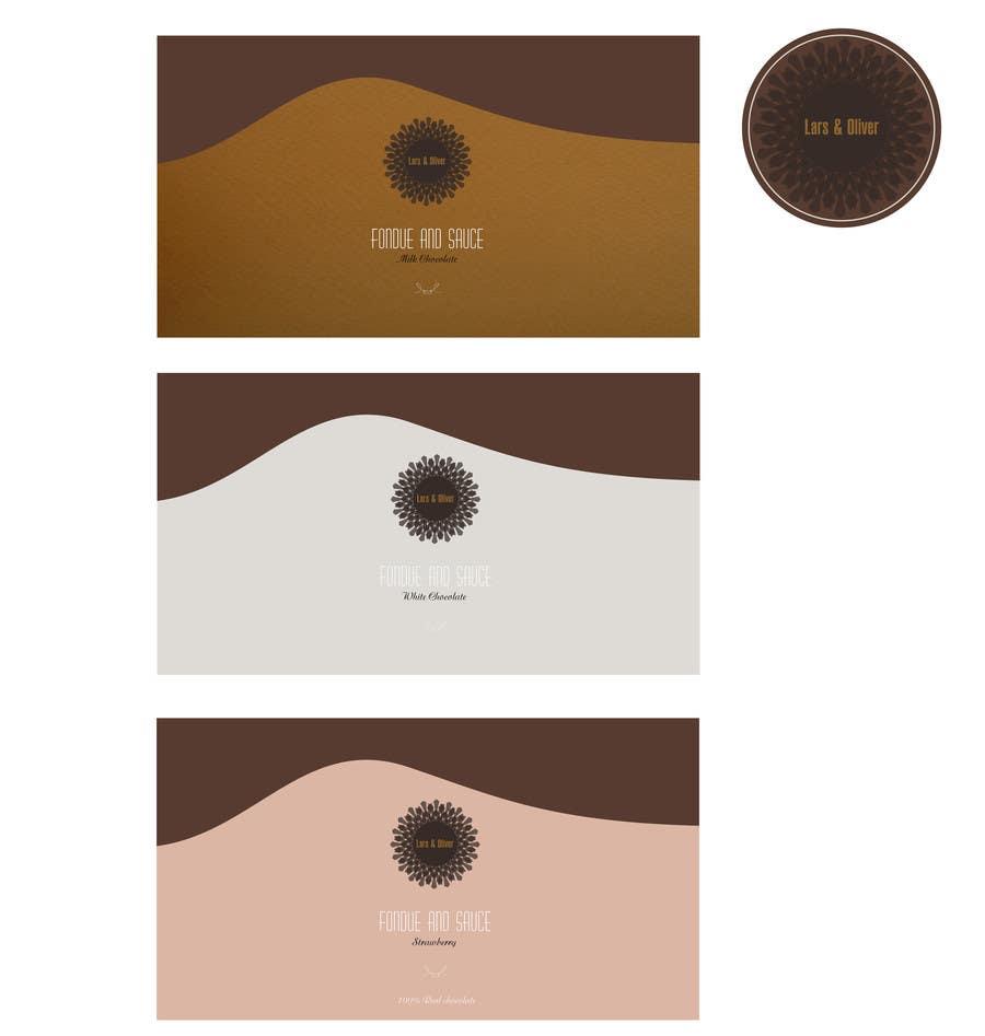 Inscrição nº                                         44                                      do Concurso para                                         Print & Packaging Design for Lars & Oliver Real Chocolate Fondue & Sauce