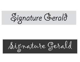 nº 25 pour Design A Signature Logo par Based24