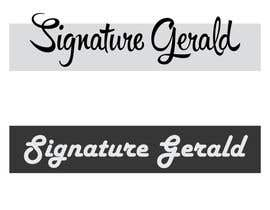 nº 26 pour Design A Signature Logo par Based24