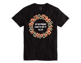nº 10 pour Poker T-Shirt   -   All-in par armamun2021