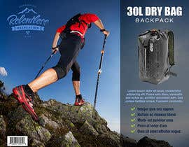 nº 17 pour Give us your best insert card designs! Relentless Recreation Dry Bag Backpack par Miuna