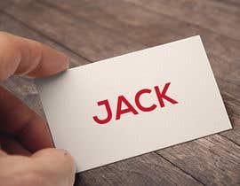 nº 112 pour Design a Logo for Jack par somrat999
