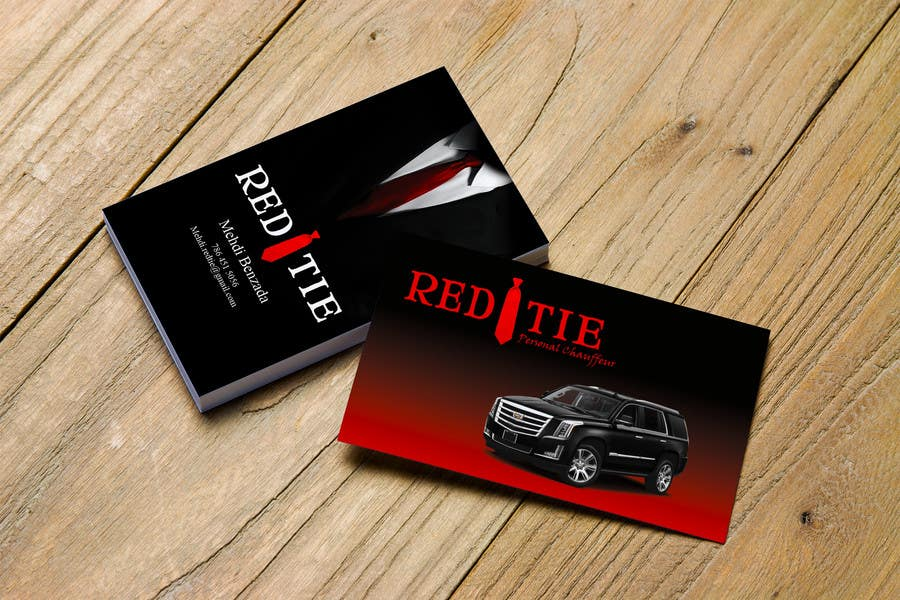 Entry #23 by ashraf132 for Chauffeur business card | Freelancer
